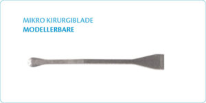 Microsurgical blades bendable